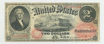 $2 Series 1874 Fr. 43 United States Note very nice looking Fine or better