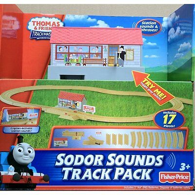 THOMAS & FRIENDS TRACKMASTER SODOR SOUNDS TRACK PACK *Nu*