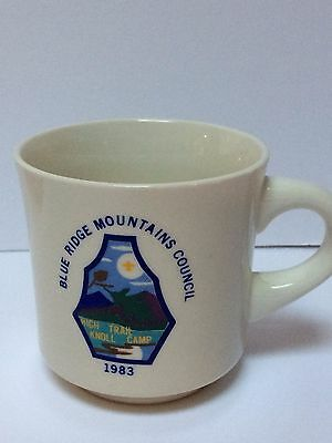 VTG Boy Scouts of America Blue Ridge Mountains Council '83 Knoll Camp Coffee Mug