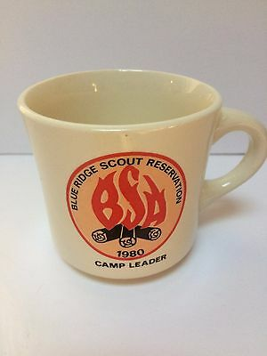 VTG Boy Scouts of America Blue Ridge Scout Reservation'80 Camp Leader Coffee Mug