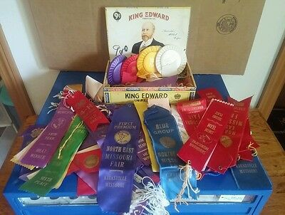 Large lot of 100+ Award Ribbons Horse show Swimming Kirksville, MO Lee's Summit