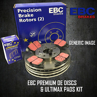 NEW EBC 256mm REAR BRAKE DISCS AND PADS KIT BRAKING KIT OE QUALITY - PDKR902