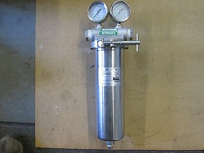 Cuno Filter Housing Filtration Stainless Steel Model # 1ZM01