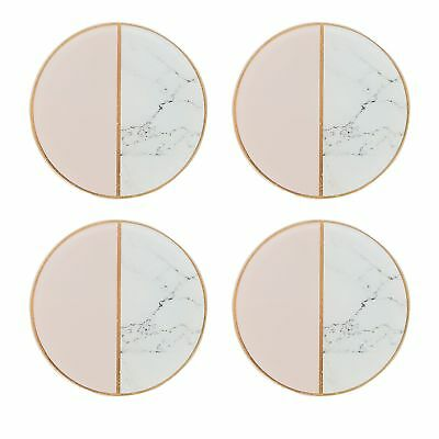 Home Collection Pack Of 4 Multi-Coloured Marble Effect 'Cosmo' Coasters