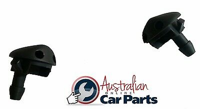 Holden Commodore Washer Jets VR VS VT VX Twin Nozzle kit Set of 2  New genuine