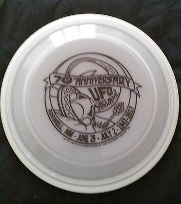 UFO Festival 70th Anniversary Glow in the Dark Flying Disc (Frisbee)