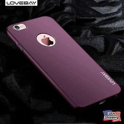 For iPhone 7 6s 6 7 Plus Case Shockproof Ultra Slim Matte Hard Back Full Cover