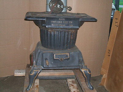 King- Wood Burning-Cast Iron Stove .