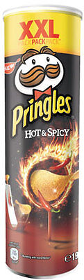 Pringles XXL Hot & Spicy - 190 g
