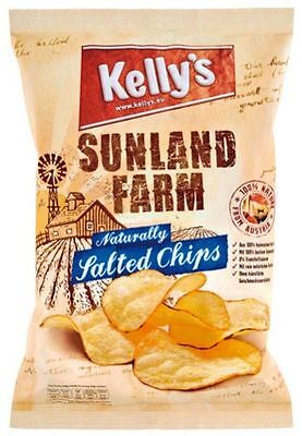 Kelly's Sunland Farm Naturally Salted Chips - 100 g