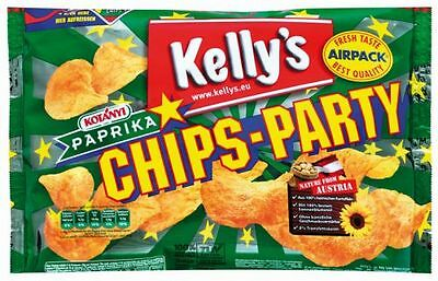 Kelly's Chips-Party Paprika, Standbeutel - 275 g