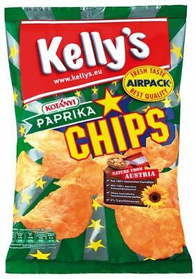 Kelly's Chips Paprika - 175 g
