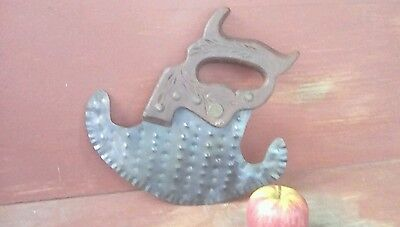 Old Herb Chopper-Crimped-Embossed-Aafa-Wood Handle