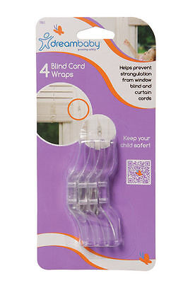 Dream Baby Blind Cord Wraps 4 Pack Brand New