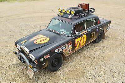 1970 Rolls-Royce Silver Shadow - 4 door sedan Rally car inspired by real cross-country Shadows of the 70's (Purists look away)
