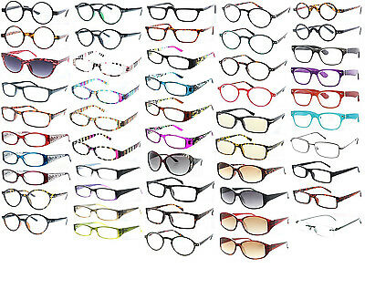 Wholesale Reading Glasses Lot of 12 to 96 Pairs Readers Assorted Mix Style