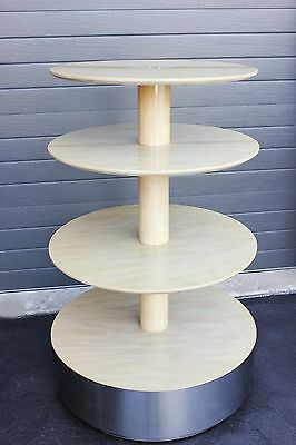 Retail / Showroom 3-Tier Round Display Table