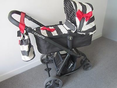 Cosatto Giggle Pram and Duo-directional Push Chair