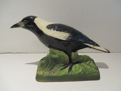 "Vintage WEMBLEY WARE POTTERY  ""MAGPIE""  STATUE ORNAMENT"