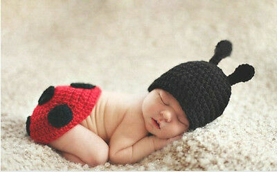Newborn Baby Girl Crochet Knit Clothes Photo Photography Prop Costume Hat #051