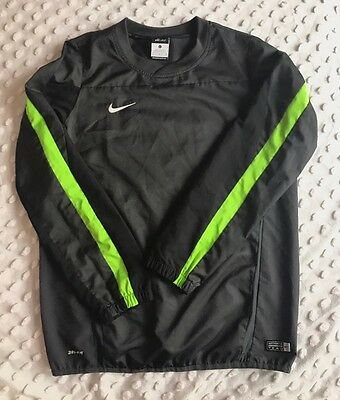 Nike Size L Boy's Authentic Team Pullover Crewneck