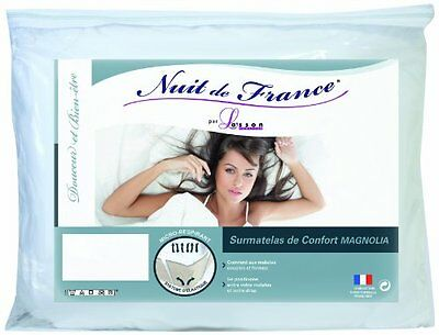 Notte Francia Surconfort 329.373 80x190 materasso bianco in cotone 190 x (a2N)