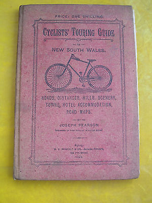 Rarest Of Rare- Cyclists' Touring Guide Of N.s.w. Joseph Pearson 1896 F/edition