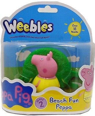 Peppa Pig - Weebles - Beach Fun Peppa - 18+ Months - Bnip