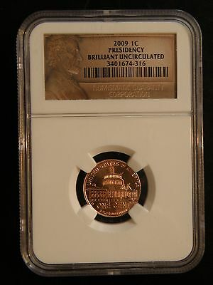 """2009 Lincoln Cent  """"presidency""""  Ngc"""