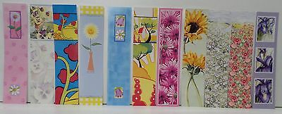3 novelty laser cut bookmarks lot 1 (can be wiped clean with a damp cloth)