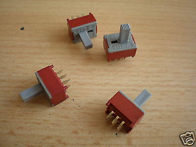 DPDT slide switch good quality now pack of 5 Uk stock good quality    Z329
