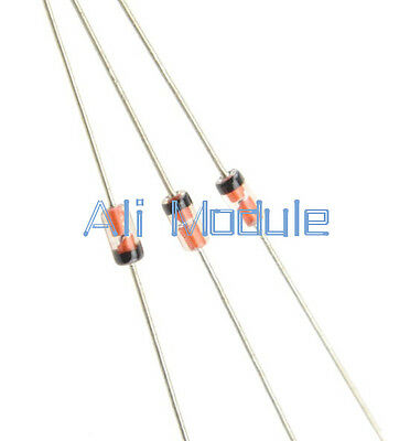 50Pcs GERMANIUM DIODE 1N34A DO-35 1N34 IN34A NEW AM