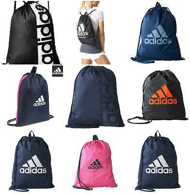 Adidas Linear Performance Logo Gym Bag Sports Sack Training Gymsack Football