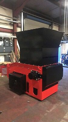 Wolfe 800 Shredder, Single Shaft 37 Kw