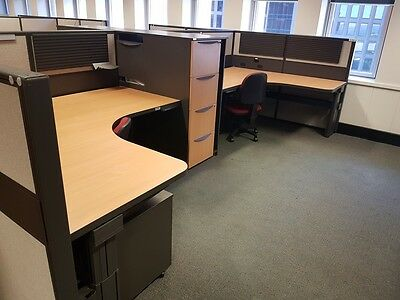 Schiavello desk height adjustable Work Stations - 70 available