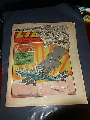 Lion and Thunder 11th March 1972
