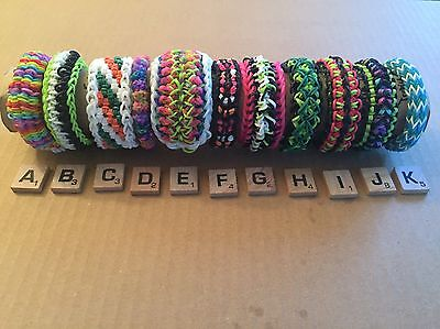 Rainbow Loom Bracelets-Difficult Designs, Choose Any Two, Free Shipping