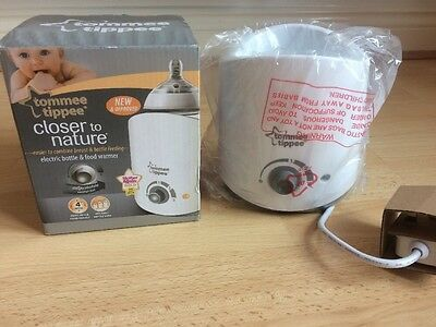 Brand New Tommee Tippee Closer To Nature Electric Bottle & Food Warmer