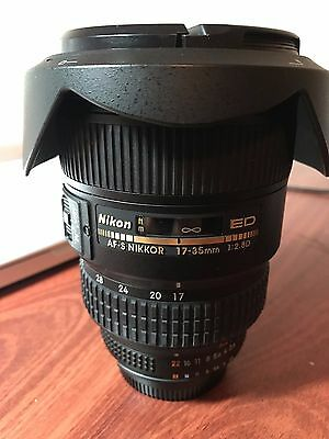 Nikon Zoom-Nikkor 17-35mm f/2.8 D ED AF-S IF Lens