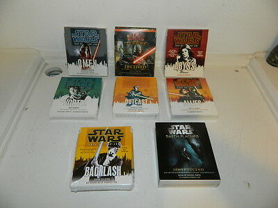 Lot Of 8 Star Wars Unabridged Cd Audiobooks