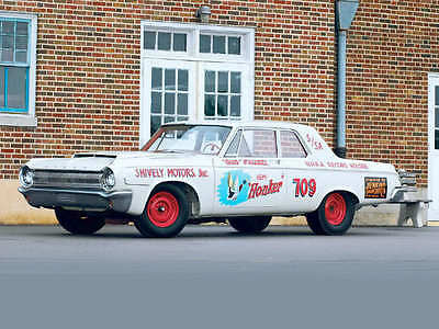 Hemi Honker 1964 Dodge 1/25th scale model car decal