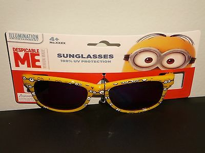 """Brand New~Boys Official  """"despicable Me"""" Sunglasses(100% Uv Protection)!!!"""