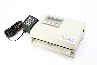 X-Rite 881 Densitometer And Power Supply