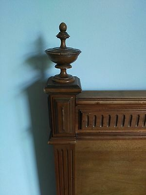 Antique French Walnut Single Bed