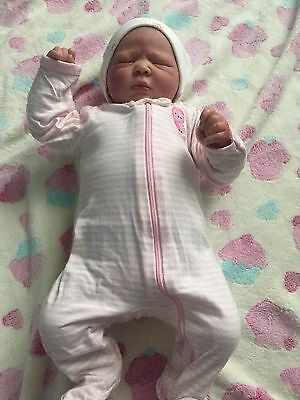Reborn Baby Doll With Full Limbs And Belly And Back Plate