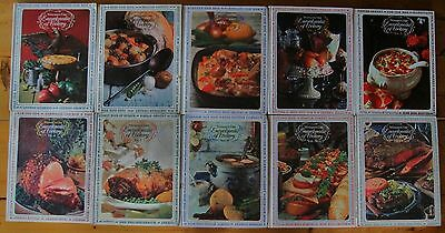 10 Volumes Of Woman's Day Encyclopedia Of Cookery 1966 Second And Third  Edition