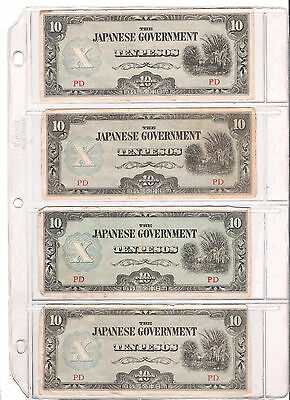 Nice Lot of WW 2 Japanese Govt.   Philippines Currency  +  Oddballs! REDUCED!