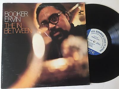 """RARE BLUES LP; Booker Ervin; """"The In Between""""; Blue Note Records; NEAR MINT!!"""