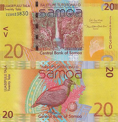 Samoa 20 Tala (2008/2017) - New Sign/Replacement Note UNC