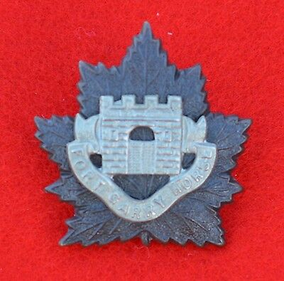 Canadian Army. Fort Garry Horse, Genuine Officer's Collar Badge